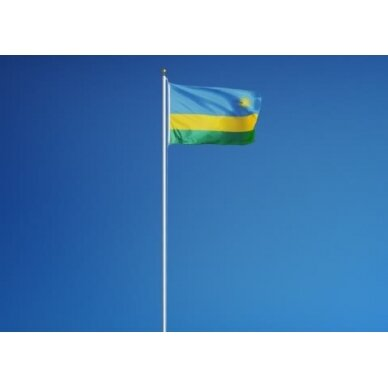 Ruandos vėliava 2