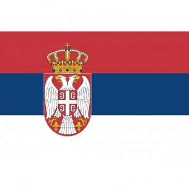 Serbijos vėliava 2
