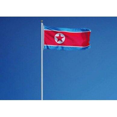 Šiaurės Korėjos vėliava 2