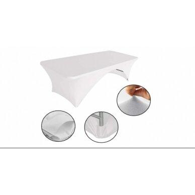 Staltiesė 150 cm Balta 5
