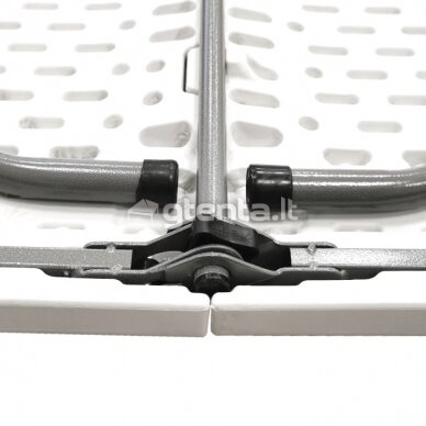 Sulankstomas stalas 150 cm Baltas 4