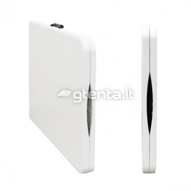 Sulankstomas stalas 180 cm Baltas 8