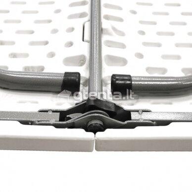 Sulankstomas stalas 240 cm Baltas 4