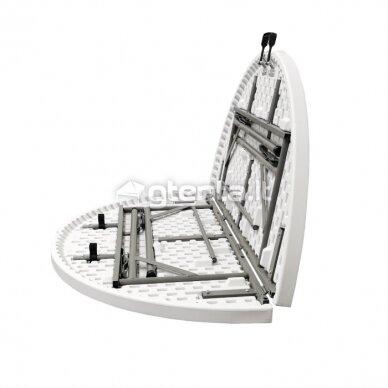 Sulankstomas stalas apvalus Ø 150 cm 5