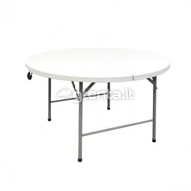 Sulankstomas stalas apvalus Ø 122 cm