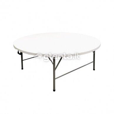 Sulankstomas stalas apvalus Ø 180 cm