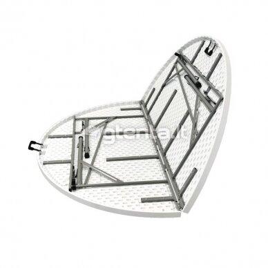 Sulankstomas stalas apvalus Ø 180 cm 5