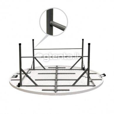 Sulankstomas stalas apvalus Ø 180 cm 8