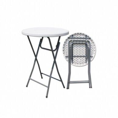 Sulankstomas stalas apvalus Ø 80 cm 2