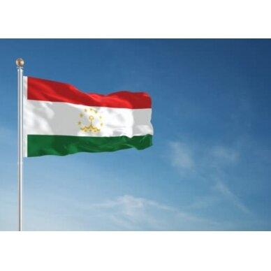 Tadžikistano vėliava 2