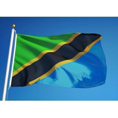 Tanzanijos vėliava 2