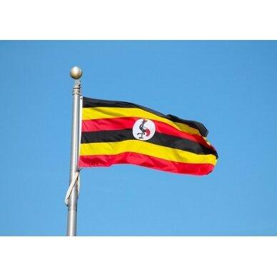 Ugandos vėliava 2