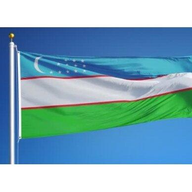 Uzbekistano vėliava 2
