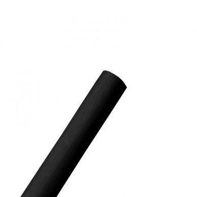 Vėliavos kotas 2.5m, be liepsnelės, JUODAS dažytas, D34mm 2