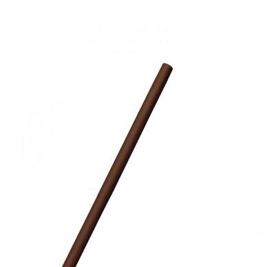 Vėliavos kotas 2.5m, be liepsnelės, RUDAS dažytas, D34mm 4
