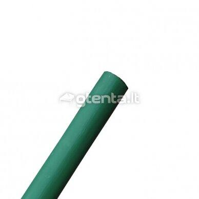 Vėliavos kotas 2.5m, be liepsnelės, ŽALIAS dažytas, D34mm 3
