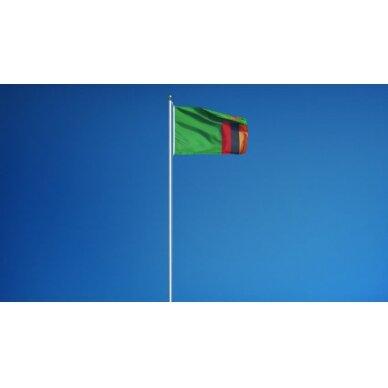 Zambijos vėliava 2