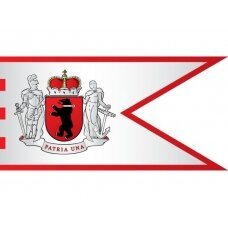 Žemaitijos vėliava su ,,laikytojais''
