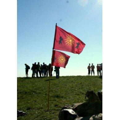 Žemaičių vėliava su ,,meškomis'' 2